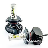 Светодиодная автомобильная лампа головного света Cyclon LED H4 HI/LOW 6000K 4000LM CSP TYPE 9
