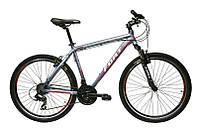 Велосипед горный Fort Falcom 26 » Alloy серо-красный  (матовый) NEW