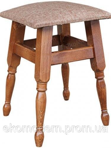 Табурет деревянный ЭКО из дерева (мягкий, твердый)