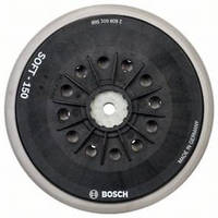 Тарельчатый шлифовальный круг с отверстиями Bosch Multi-hole (150 мм - мягкая), 2608601568