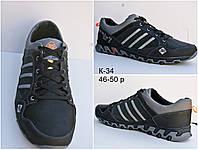 Большие размеры кожаные мужские кроссовки 46-50 р-р, фото 1