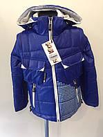 Куртка Columbia синяя мальчик р.32,34,36