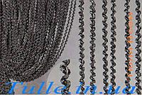Занавески из нитей спираль