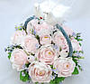 Корзина цветов из конфет Ферреро Роше, фото 2