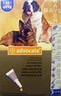 Адвокат капли для собак 25-40кг 1пипетка