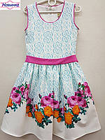 Платье для девочки 6105, уп 5 шт рост от 9 до 12 лет