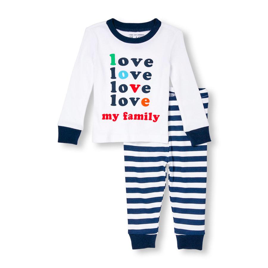 Пижама детская унисекс 9-12 мес