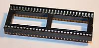 Панельки для микросхем PIN 56 шаг 1,77мм