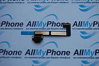 Шлейф для планшетов Apple iPad Mini 2 / Mini 3 коннектора зарядки с компонентами черный