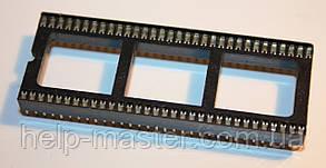 Панельки для микросхем PIN 64 шаг 1,77мм