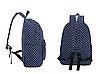 Рюкзак городской в горох, фото 3