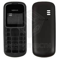 Корпус для мобильного телефона Nokia 1280, high-copy, черный, передняя и задняя панель