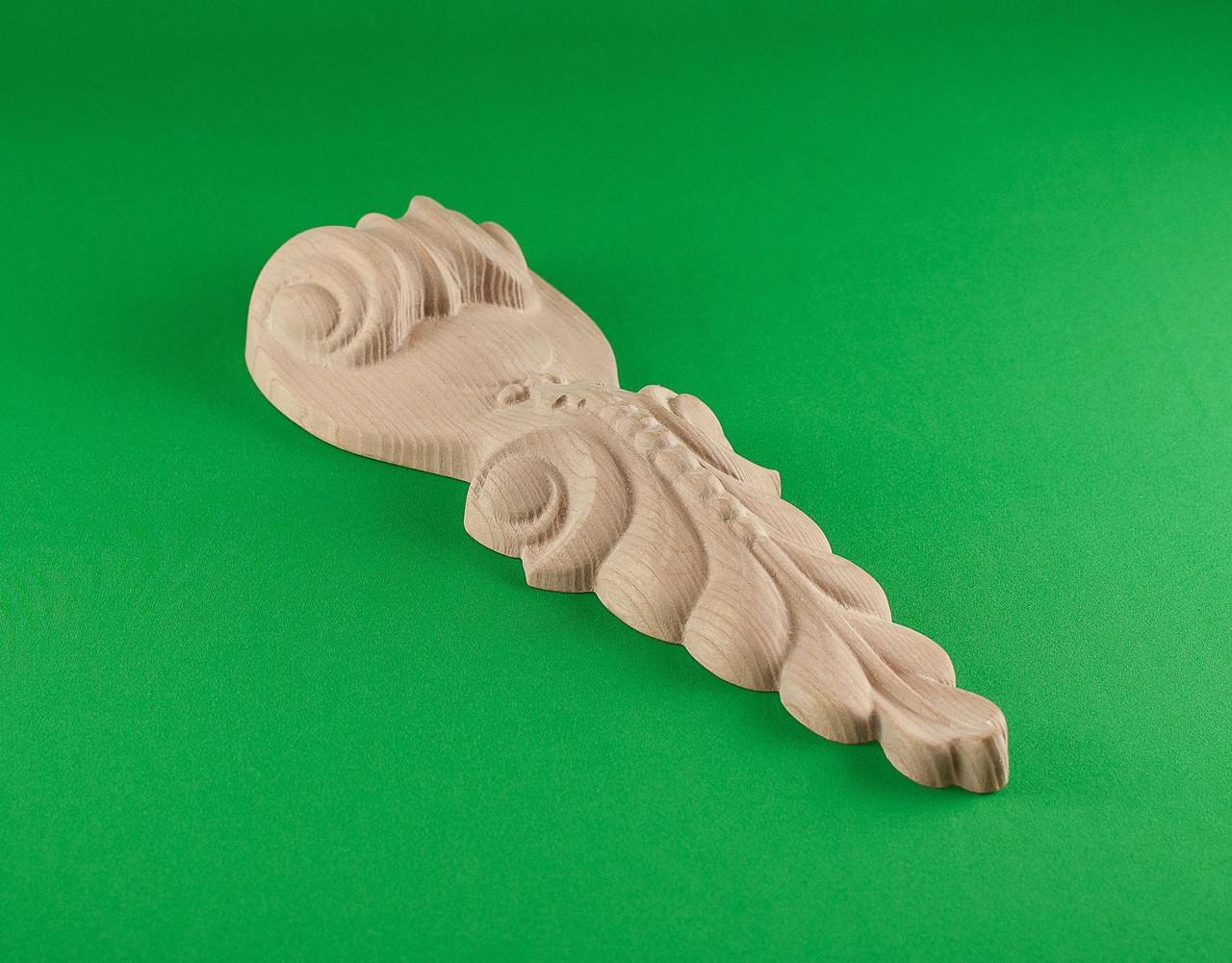 Код КР6. Резной деревянный декор для мебели. Кронштейны