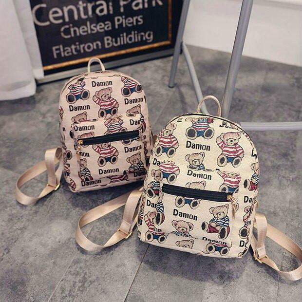 Маленькие женские и мини рюкзаки