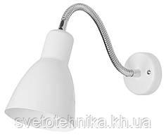 Светильник-бра настенный ART TOK с выключателем белый Е27