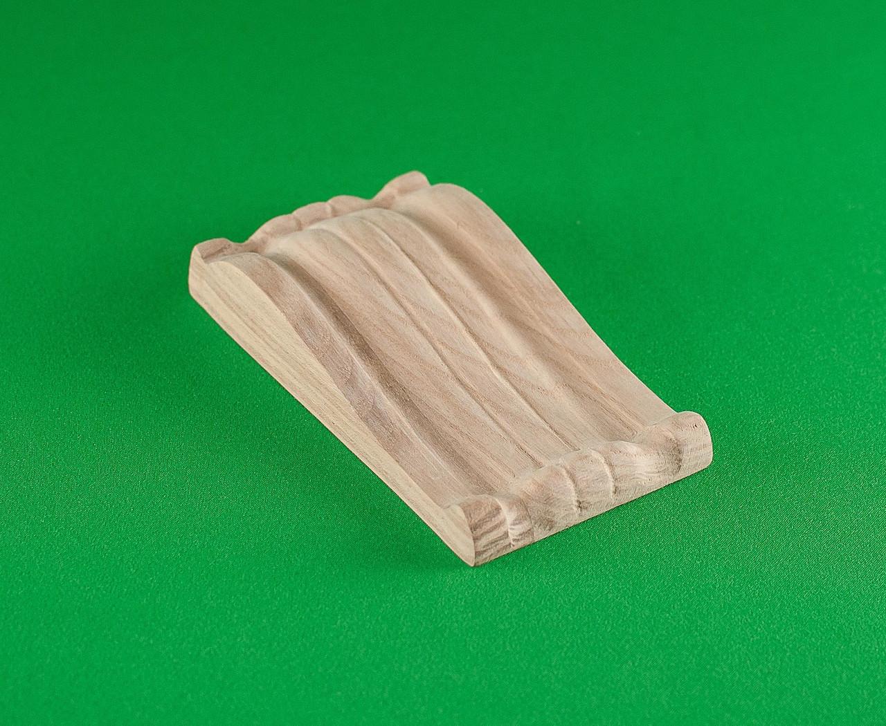 Код КР10. Резной деревянный декор для мебели. Кронштейны
