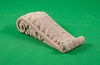 Код КР13. Резной деревянный декор для мебели. Кронштейны, фото 1
