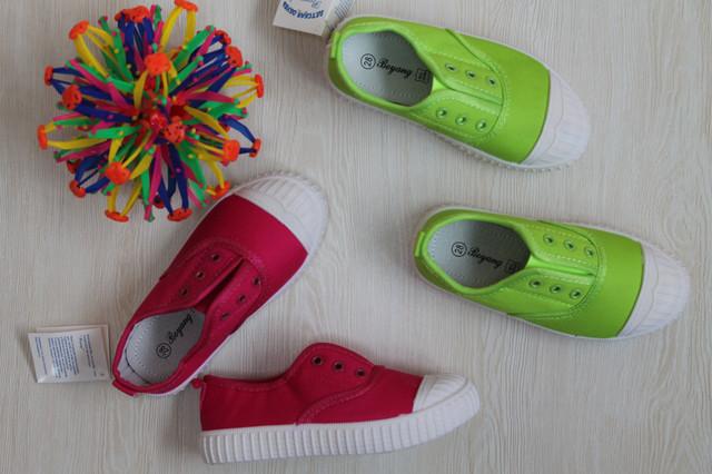 Детские кеды без шнурков style-baby.com