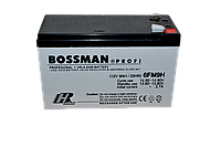 Свинцово-кислотный аккумулятор 6FM9H Bossman Profi (12V 9AH)