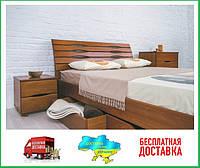 Кровать Марита Люкс с 4 ящиками