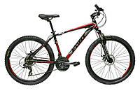 Велосипед горный Fort Pro Expert 26» Alloy черно-красно-серый 2016