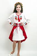 """Вишитий костюм для дівчинки """"Український букет"""" (школа)"""