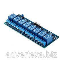 Модуль реле на 8 каналов для Arduino, Raspberry Pi