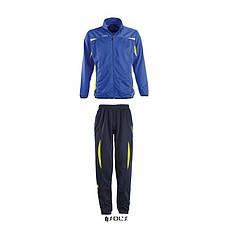 Тренировочные костюмы SOL'S CAMP NOU, ярко-синий/лимонный, Франция.  размеры от S до 3XL, высокое качество