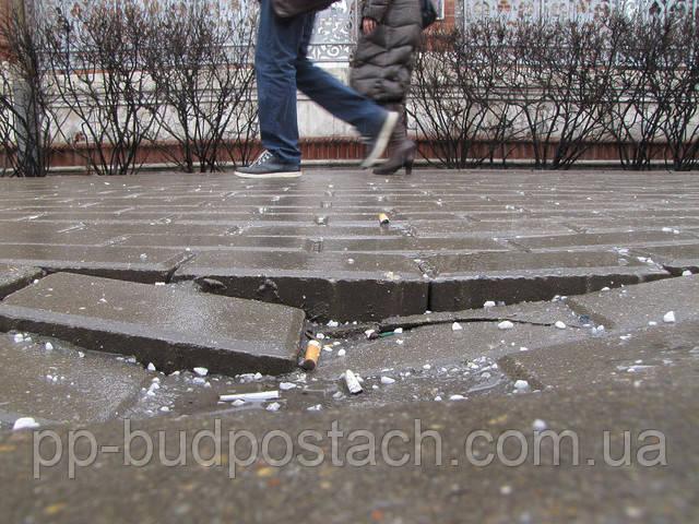 Тротуарна плитка відмінна заміна асфальтовому покриттю