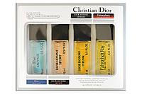 Подарочный набор с феромонами, Christian Dior, 4x15 ml