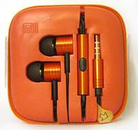 Наушники с микрофоном Xiaomi piston v2 Orange