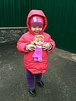 Детская демисезонная куртка  для девочки, р. 92-116