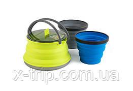 Набор туристической посуды Sea To Summit X-Set 11 Lime