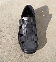Сандалии закрытые кожаные мужские  с 40 по 45 р-р