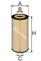 Фильтр масляный M-Filter TE630