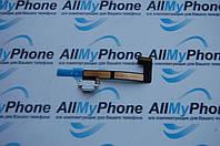 Шлейф для планшетов Apple iPad Mini 2 / Mini 3 коннектора зарядки с компонентами белый