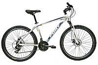 Велосипед горный Fort Pro Expert 26» Alloy бело-синий-коричневый(матовый) 2016