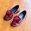 Лакові туфельки з бантом, 3 кольори