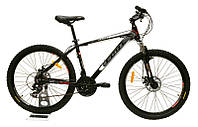 Велосипед горный Fort Pro Expert 26» Alloy черно-серый-красный