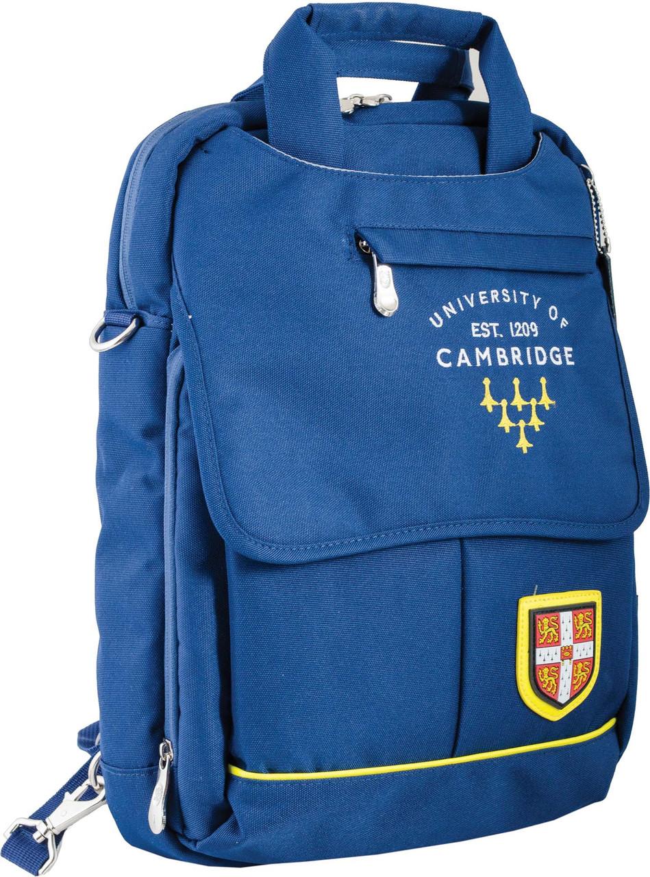 554043 Рюкзак підлітковий CA 052, синій, 27*41*11