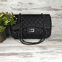 """Женская сумка в стиле """"Шанель"""" на цепочке"""
