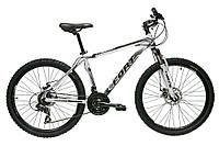 Велосипед горный Fort Contessa 26 DD женский» Alloy бело-голубой цветочек  (матовый) NEW