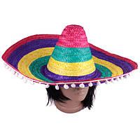 """Сомбреро """"Мексиканская соломенная шляпа"""""""
