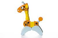 """Жираф деревянный """"Акробат"""", в кор. 22*16*8см, Украина, ТМ CUBIKA (Левеня)"""