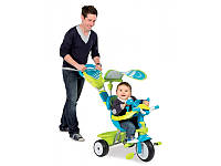 Велосипед трехколесный металлический Baby Driver Confort Sport Smoby 434105
