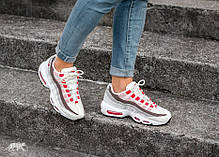Женские кроссовки Nike Air Max 95 Ember Glow Sail 307960 102, Найк Аир Макс 95, фото 2