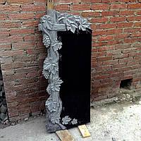 """Памятник одиночный из гранита на могилу """"Грона винограда"""""""