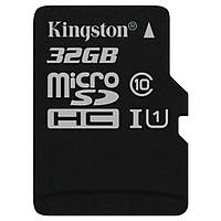 Карта памяти Kingston 32 GB microSDHC Class 10 UHS-I + SD Adapter SDC10G2/32GB