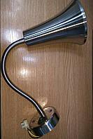 Светильник-бра настенный ART TOK с выключателем никель/хром матовый Е27