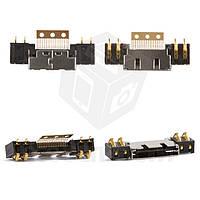Коннектор зарядки для мобильных телефонов Samsung A100, A200, N500, N600, N620, R200, R210